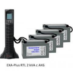 Источник бесперебойного питания (ИБП) UPS EXA plus RTL 2kVa/1,8kW