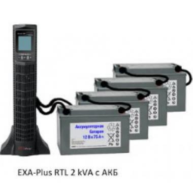 Источник бесперебойного питания EXA plus RTL 2kVa/1,8kW