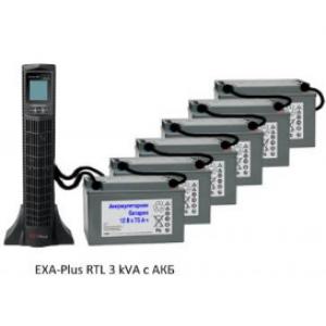 Источник бесперебойного питания (ИБП) UPS EXA plus RTL 3kVa/2,7kW
