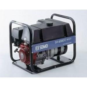 Бензиновый генератор SDMO SH 6000E-S +АВР