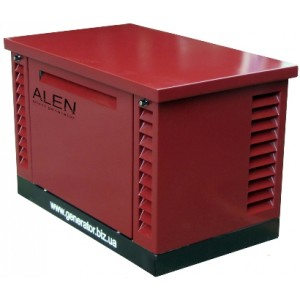 Бензиновый генератор в шумозащитном кожухе ALEN BME 10000-1